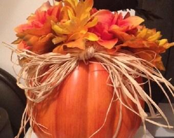 Autumn Crow Floral Arrangement