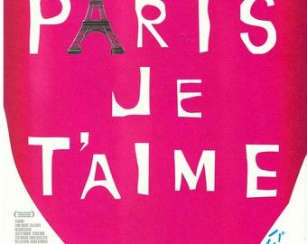 Paris, Je T'aime Chiarshi Poster