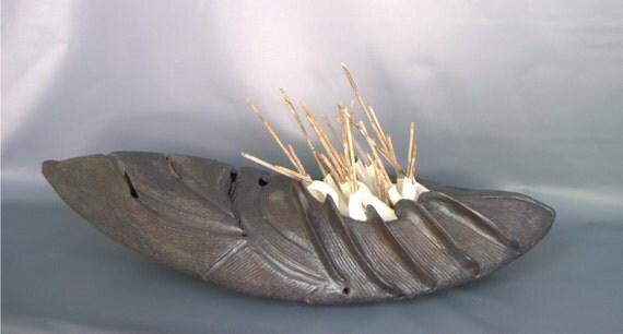 "Escultura cerámica - ""Erizo"""