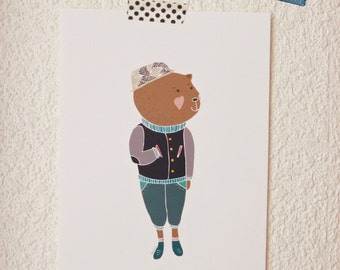 Print -HipBear-