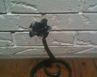 Blacksmith Handmade Rose