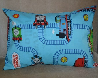 Travel Pillowcase / Travel Pillow Case / Child Pillow Case THOMAS THE TRAIN and Friends