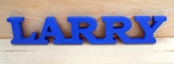 Custom Made Name Sign, Interior or Exterior Use