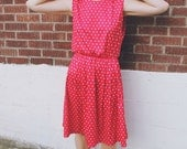 SALE Vintage 1980's The Pie's Cooling Dress