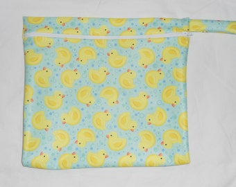 Wet bag for Cloth Diaper  ( You choice fabric)