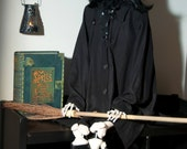 Witch, Halloween,Bewitching, Skeleton Portrait, Fine Art Photography