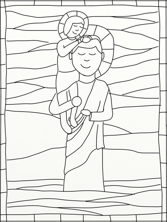 christopher coloring pages - photo#19