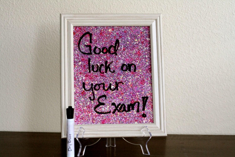 glitter dry erase board pink paint splatter. Black Bedroom Furniture Sets. Home Design Ideas