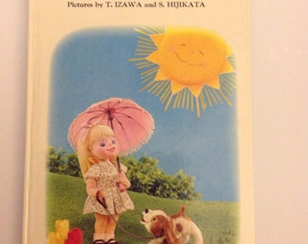 Colors Preschool Puppet Board Book by T. Izawa 1973