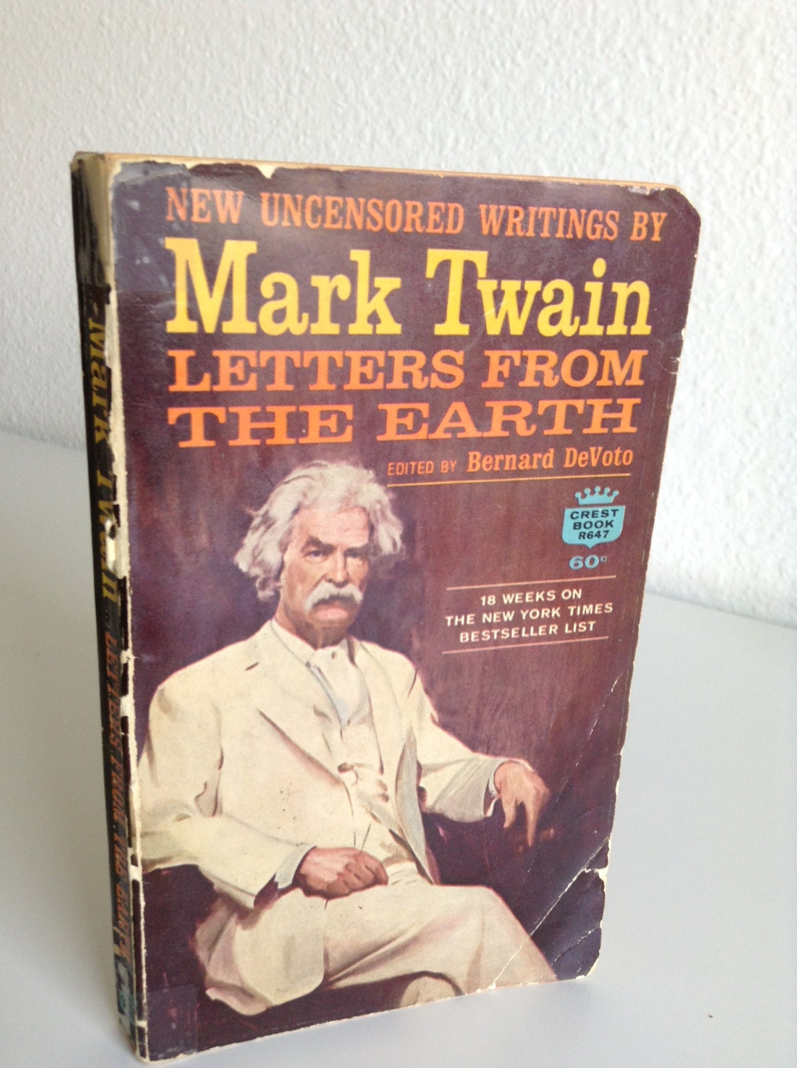 Letters from the Earth by Mark Twain (English) Hardcover