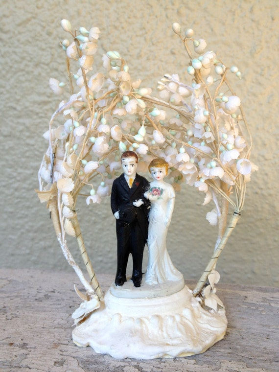 wedding cake toppers etsy antique wedding cake topper 26456