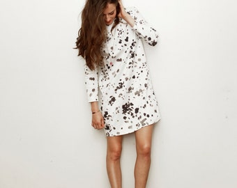 101 Print Shift Dress