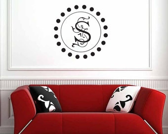 Ivory Letter Wall Decal