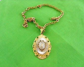 Vintage Gold-tone and Silver-tone Necklace (Item 358)