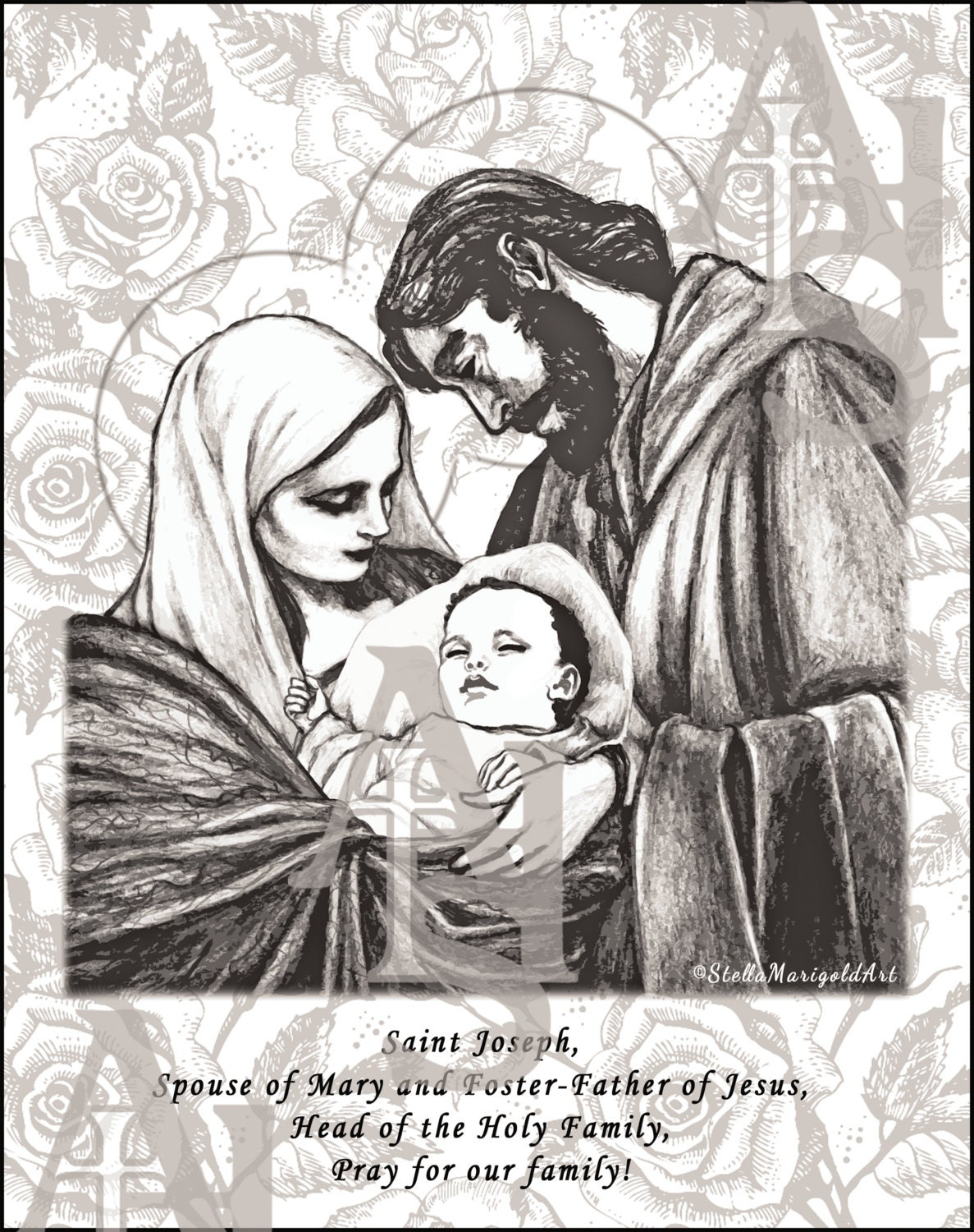 Mary Carrying Baby Jesus With Joseph And The Donkey Fagburn A Blog ...