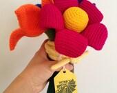 Custom Order - Giant Crochet Flowers