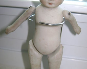 Antique Bisque Nippon Doll
