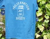 SALE!!!! Preservation Society Men's / Unisex Tee Organic