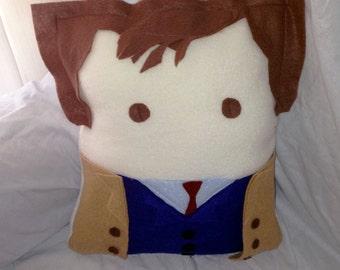 10th Doctor (David Tennant) pillow