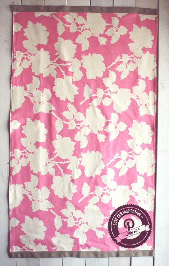items similar to floor rugs area rug hot pink nursery rug. Black Bedroom Furniture Sets. Home Design Ideas