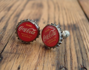 Coca Cola Coke Metal Knob, Antique Bronze Round, Vintage Finish, Cabinet, Drawer,dresser,memorabilia,soda advertising,rustic,furniture
