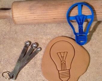 3D Printed Light Bulb cookie cutter