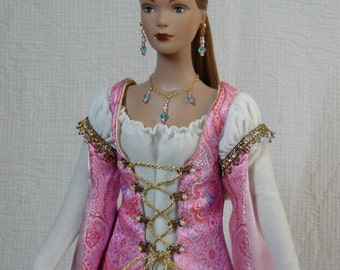 OOAK Renaissance Doll Outfit, Happily Ever After, for Tonner Tyler (and same size) Dolls