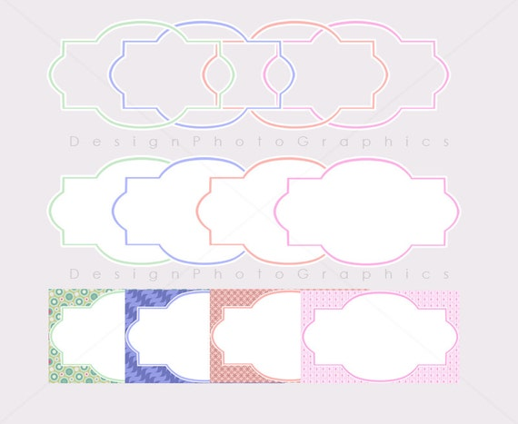 Labels Color Colored Printable Labels