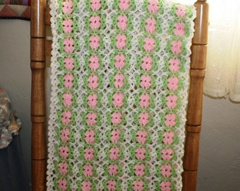 Delicate and Dainty Baby Afghan, #CA-7