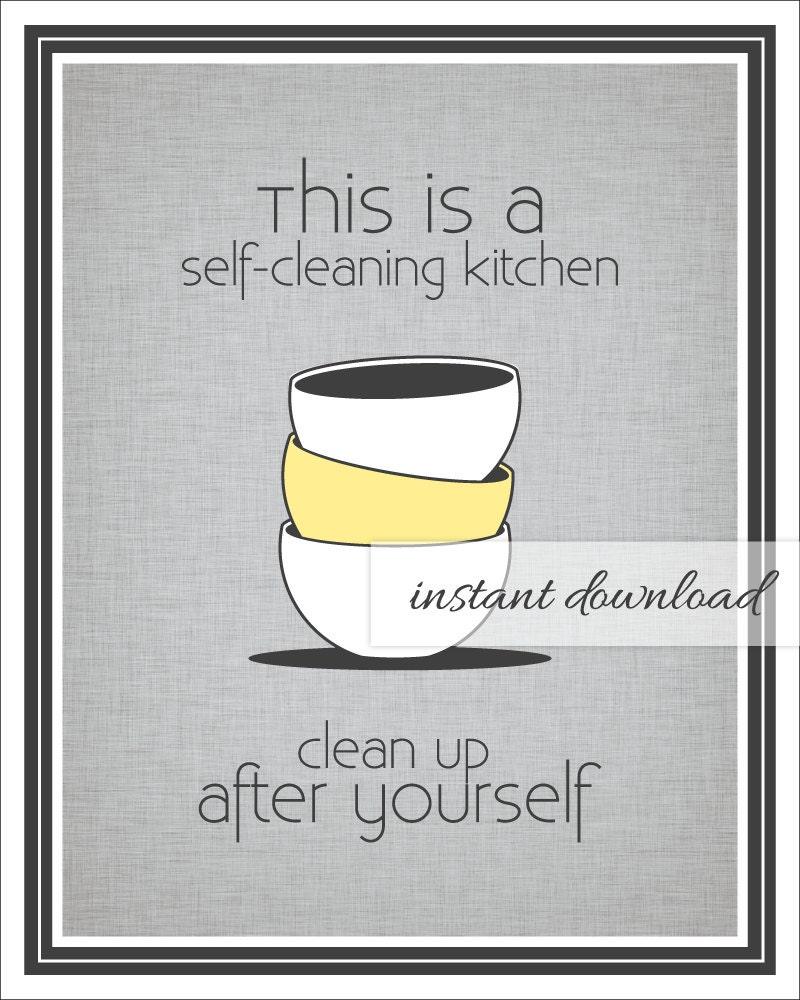 Kitchen Sink Etiquette: Kitchen & Dining