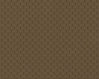 Dimensional Mini Diamond Gem Pattern in Olive Brown - Geometric, Small, Contemporary - Wallpaper By The Yard - PX8859