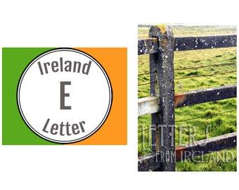 Ireland Alphabet Photography: Letter E Photograph
