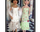 Ellowyne Wilde Flapper Dress Sewing Pattern PDF - 1920's Gatsby Style Doll Dresses