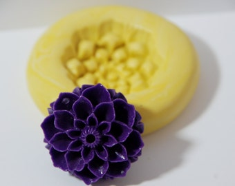 0002-Large Flower Silicone Flexible Mold