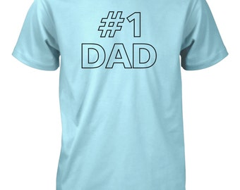 Number 1 Dad T-Shirt for Men