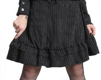 Charlotte Skirt Pinstripe