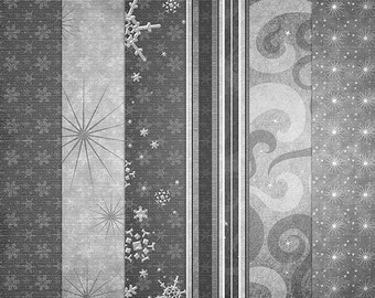 Hints of Holiday Digital Paper Templates