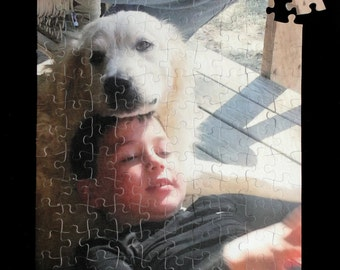 """PHOTO PUZZLE Personalized Puzzle 10 1/2"""" x 13 1/2"""" Great Gift!!!! Custom - One -of-a-kind"""