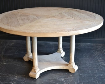 The Charleston round dining table