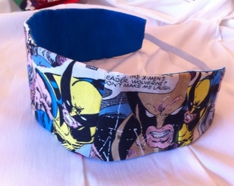 Wolverine Reversible Fabric Headband, Marvel, Superhero, Comic Books, X-Men