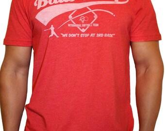 Balls Deep T Shirt We Don T Stop At 3rd Base Funny T