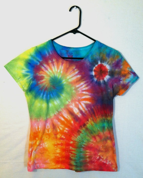 Tie Dye Womens T Shirt Galaxy Shirt 100 By