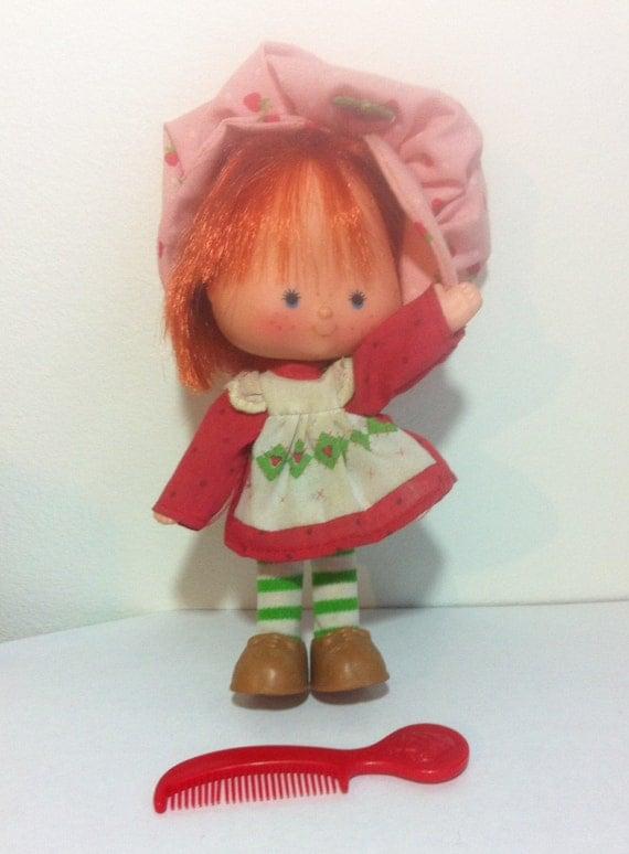 80s Toy Dolls : Vintage strawberry shortcake doll toy s cartoon