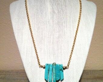 Turquoise Fringe