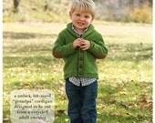 Banbury Cross cardigan baby toddler sweater sewing PDF e-pattern