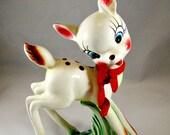 Adorable large woodland deer figurine