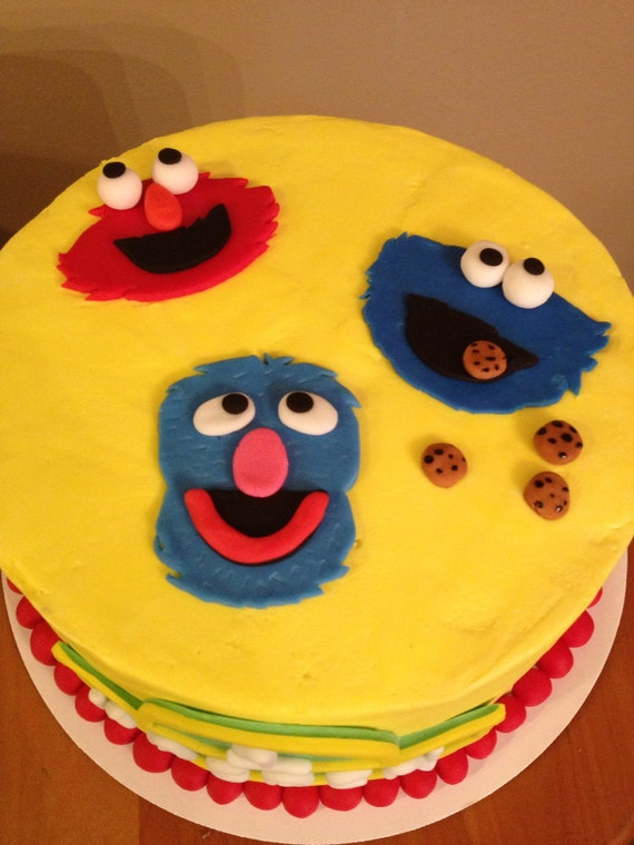sesame street cake toppers sesame cake toppers 7302
