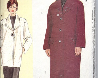 Vogue 7143 Winter Coat Sewing Pattern  ID52