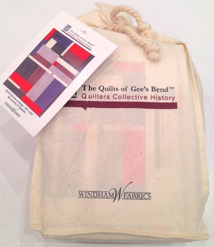 Gee S Bend Blocks Amp Stripes Quilt Kit