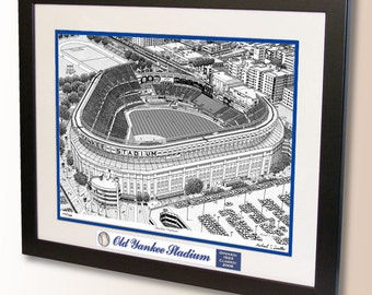 Old Yankee Stadium Art (2008), former home of the New York Yankees